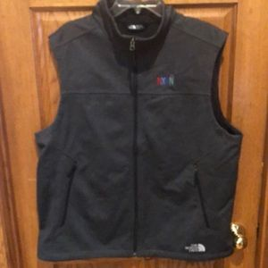 The North Face vest.  Size XL